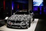 ミュンヘンで行われたシーズンレビューイベント展示されたBMW M4 GT4