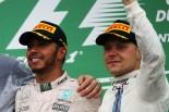2016年F1カナダGP ルイス・ハミルトンとバルテリ・ボッタス