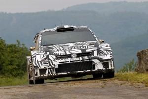 フォルクスワーゲンが開発してきた2017年型ポロR WRC