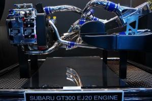 SUBARU BRZ GT300に搭載されている2リッター水平ターボのEJ20エンジン