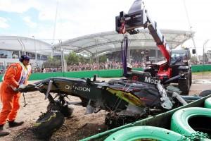 2016年F1第1戦オーストラリアGP フェルナンド・アロンソ(マクラーレン・ホンダ)