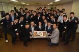 カレッジ・カート・プロジェクトのキックオフパーティに集まったメンバー。