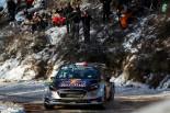 WRC第1戦モンテカルロ セバスチャン・オジエ(フォード・フィエスタWRC)