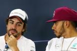 2016年スペインGP記者会見 フェルナンド・アロンソとルイス・ハミルトン