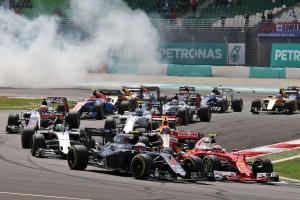 2016年F1マレーシアGP スタート