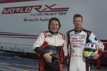 昨年末に17年型フォード・フィエスタRXスーパーカーのテストを行ったアレクサンダー・ブルツ