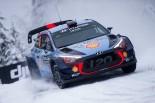 WRC第2戦スウェーデン ティエリー・ヌービル(ヒュンダイi20クーペWRC)