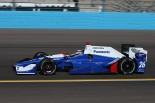 アンドレッティ・オートスポートに移籍し、インディカー8シーズン目に挑む佐藤琢磨。26号車で初走行を行う。