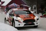 WRC第2戦スウェーデン 新井大輝(フォード・フィエスタR5)