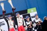 WRC第2戦スウェーデン 優勝したヤリ-マティ・ラトバラ(トヨタ・ヤリスWRC)