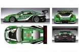 スーパー耐久用ポルシェ911 GT3 Rのマシンカラーリング