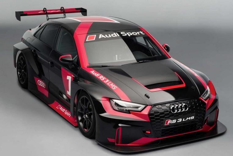 BRPはスーパー耐久ST-Rクラスに投入するアウディRS3 LMS
