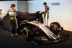 2017年フォース・インディアF1 VJM10発表会