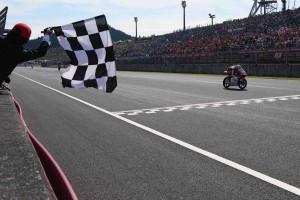 幻の3位表彰台となった日本GPでの尾野弘樹