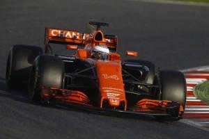 2017年第1回F1合同テスト1日目 フェルナンド・アロンソ(マクラーレン・ホンダ)