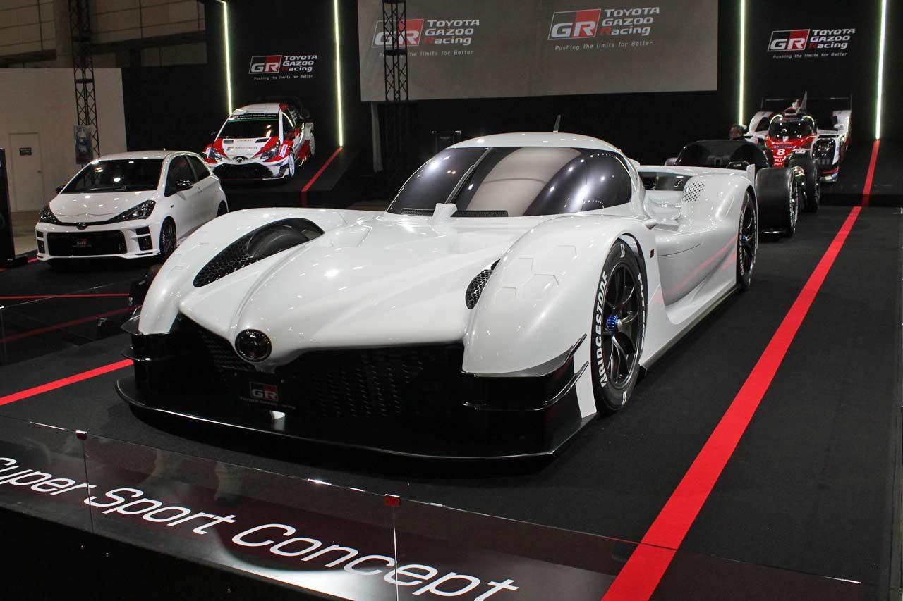 トヨタ、GRスーパースポーツコンセプトを世界初公開。WEC/ル・マンカーの主要パーツを採用