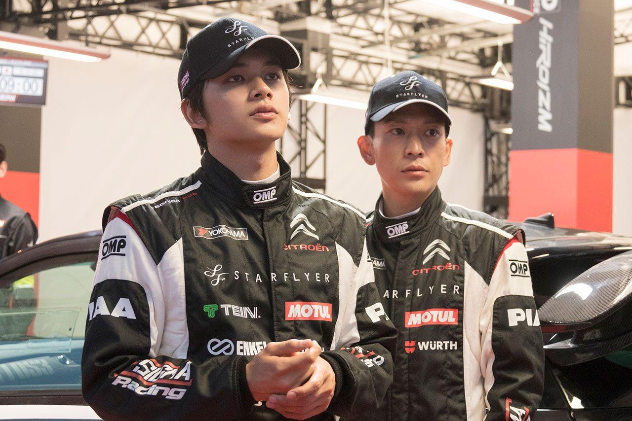 「モータースポーツ好きを満足させたい」。レース好き制作陣が手がける映画『OVER DRIVE』はクルマファン必見