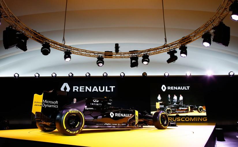 F1 | ルノーが披露した「R.S.16」は旧車ベースと認める
