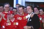 2002年フランスGP ミハエル・シューマッハー、ルカ・ディ・モンテゼモロ、ジャン・トッド