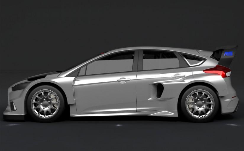 ラリー/WRC | ブロック、今季WorldRXに新型フォーカスRSを投入