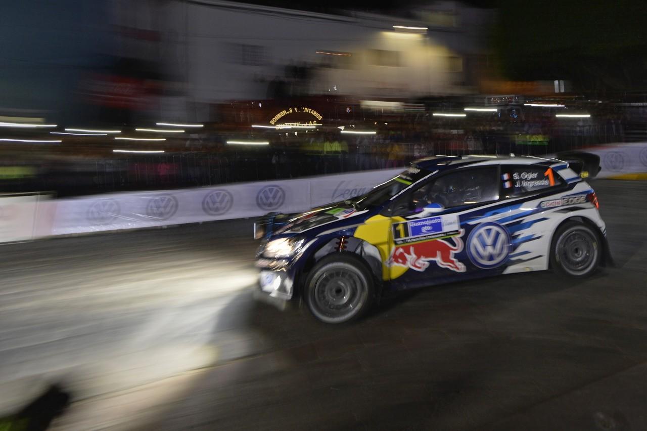 WRC第3戦メキシコ SS3後 暫定結果