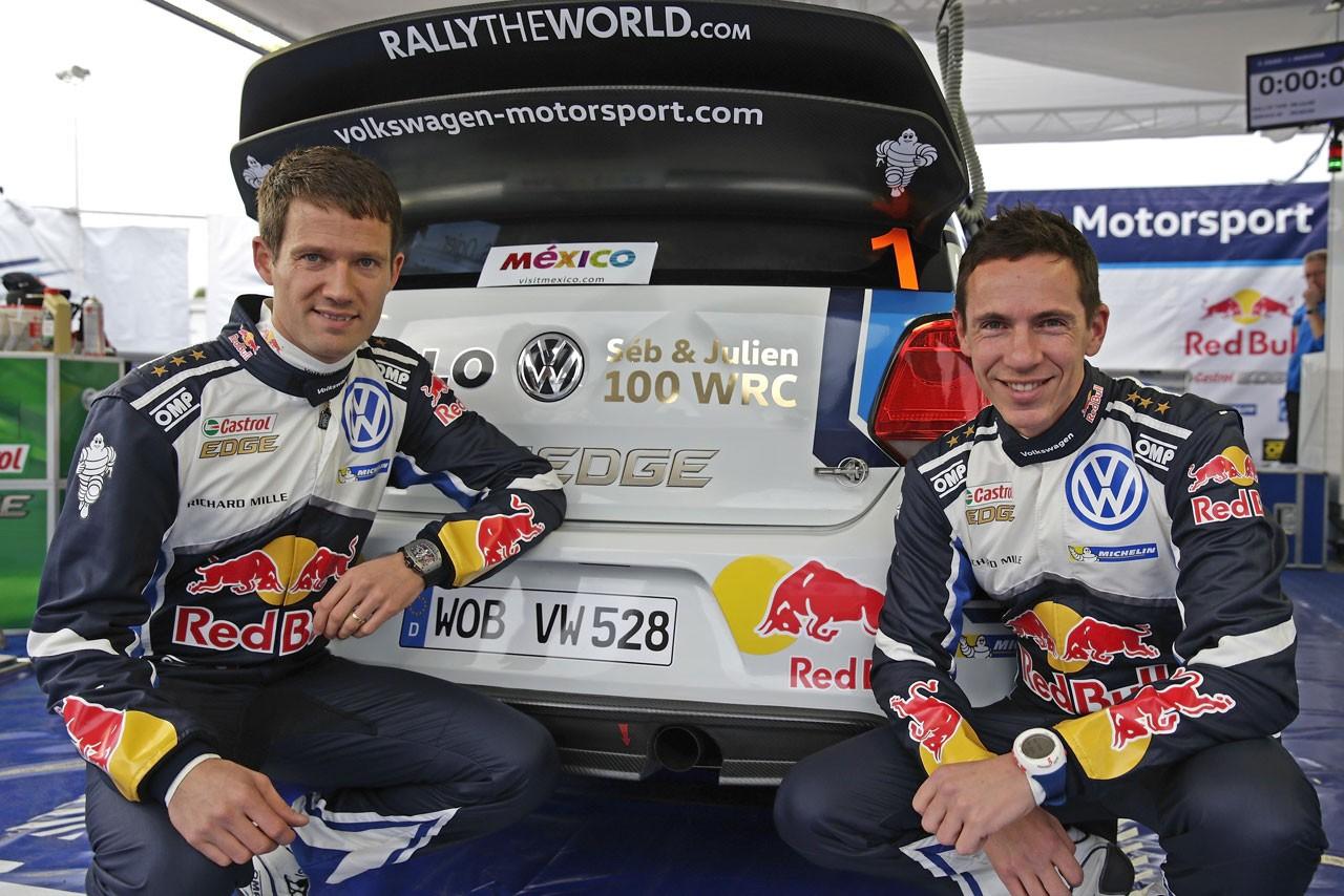 WRCメキシコ:デイ1はVWとヒュンダイが上位独占(5)