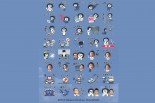 3月7日から販売されるNAKAJIMA RACINGのLINEスタンプ