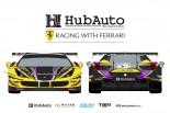 HubAuto Racingのフェラーリ488 GT3