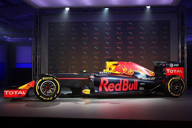 F1 | レッドブルF1、新カラーリングは伝統的な配色