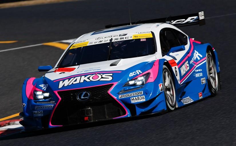 スーパーGT | 岡山で7台のGT500マシンがテスト開始。ニューカラーリングのマシンも