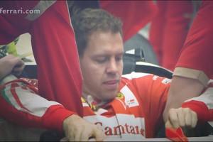 F1 | 【動画】ベッテル、新しい跳ね馬でシート合わせ