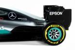 F1   メルセデス、新車『W07』を正式に発表