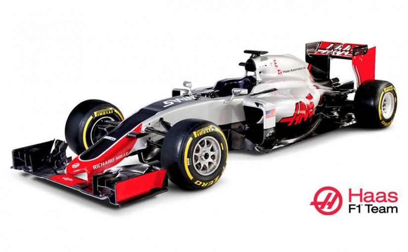 F1 | ハース、初のF1マシン『VF-16』を正式に発表
