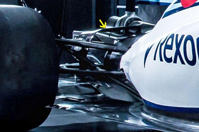 F1 | ウイリアムズ新車分析:空力や冷却、進化は細部に