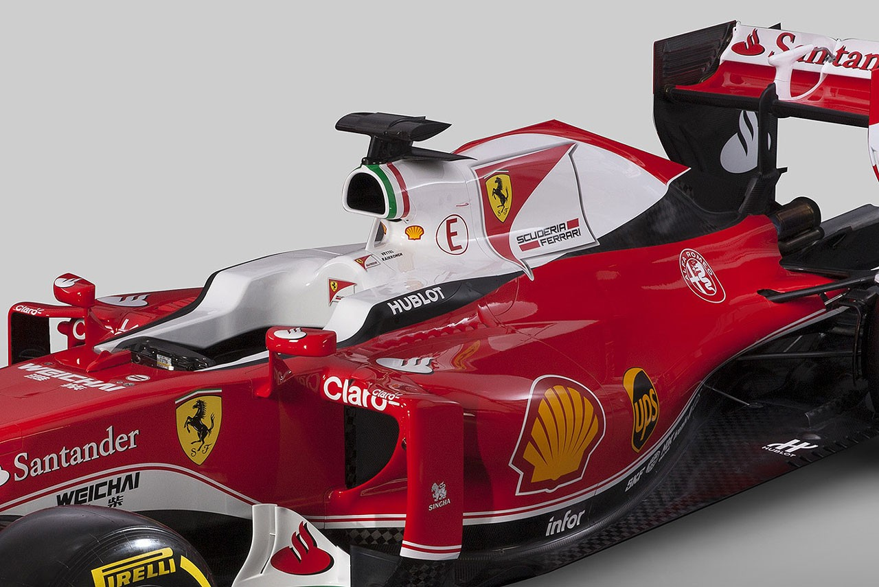 フェラーリ新車分析2:インダクションポッド周辺