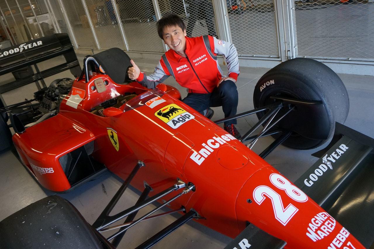 悲願成就! 次生F1初ドライブ「フェロモン出てます」