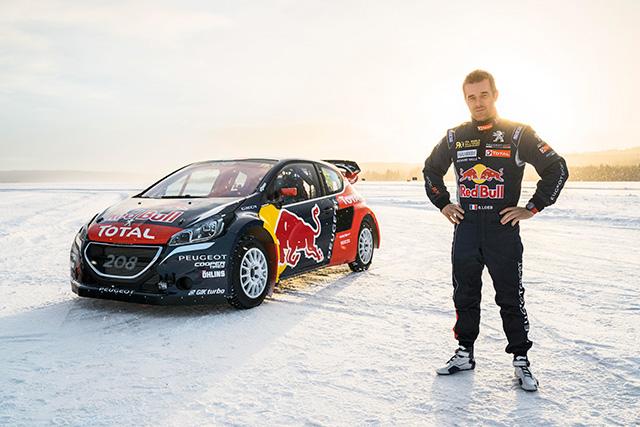 ラリー/WRC | 9度のWRC王者セバスチャン・ローブがプジョーから世界ラリークロス選手権に参戦