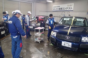 インフォメーション | 日本一の座を懸け、キーパー技術コンテストが開催
