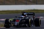 2016年第2回F1合同テスト フェルナンド・アロンソ(マクラーレン・ホンダ)