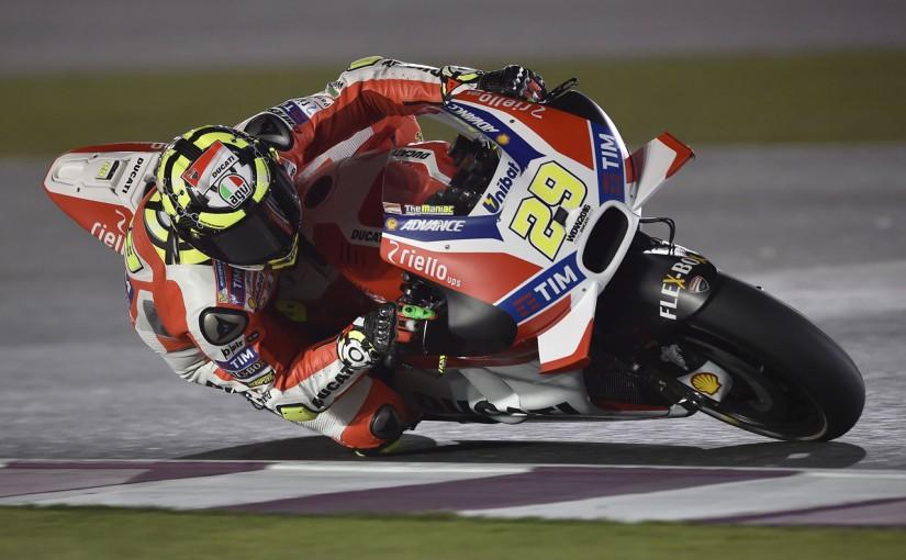 MotoGP   MotoGP第1戦カタールGP2日目:ドゥカティのイアンノーネが総合トップ。タイム差は僅差
