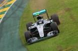 F1 | ロズベルグ「連続PPは途切れたが決勝でチャンスは山ほどある」:メルセデス オーストラリア土曜