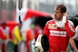 F1 | ベッテル「静寂の予選。明らかに改悪と分かっていた」:フェラーリ オーストラリア土曜