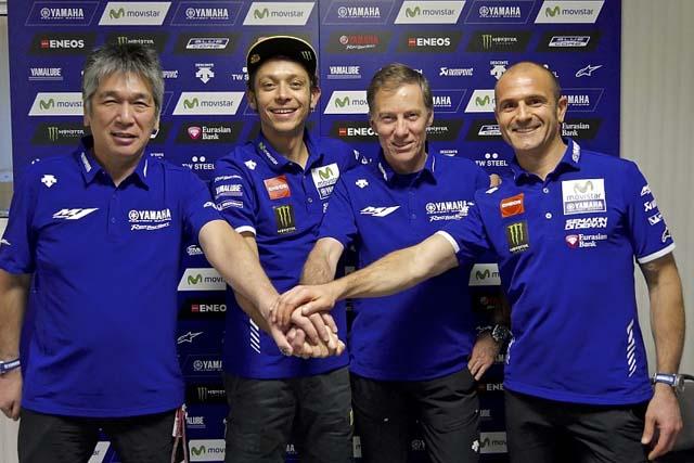 MotoGP | バレンティーノ・ロッシ、ヤマハとの契約延長を発表