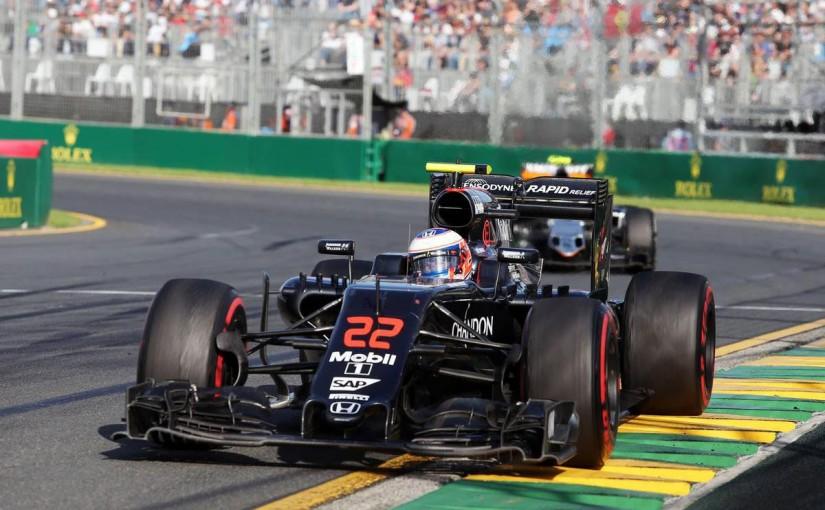 2016年F1開幕戦オーストラリアGP 決勝レース ジェンソン・バトン