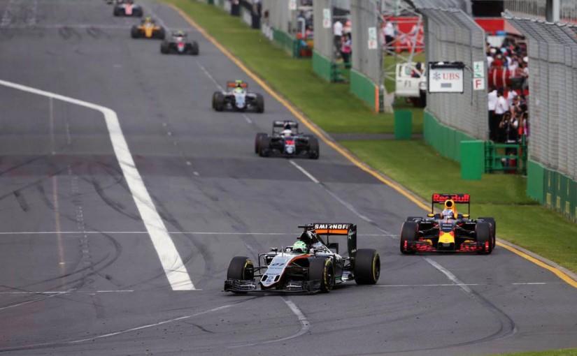 2016年F1開幕戦オーストラリアGP 決勝レース ニコ・ヒュルケンベルグ