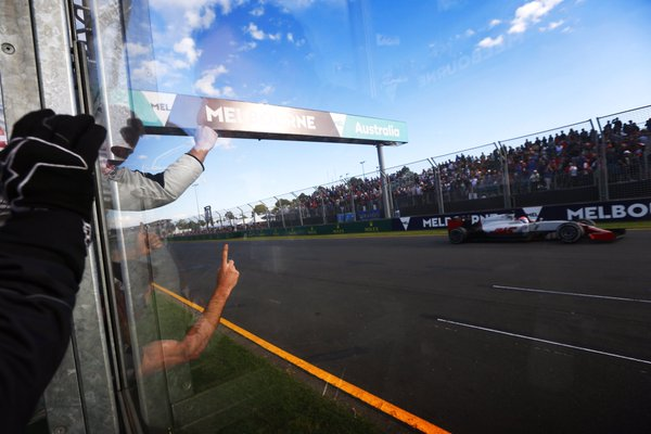 2016年第1戦オーストラリアGP ロマン・グロージャン(ハース)