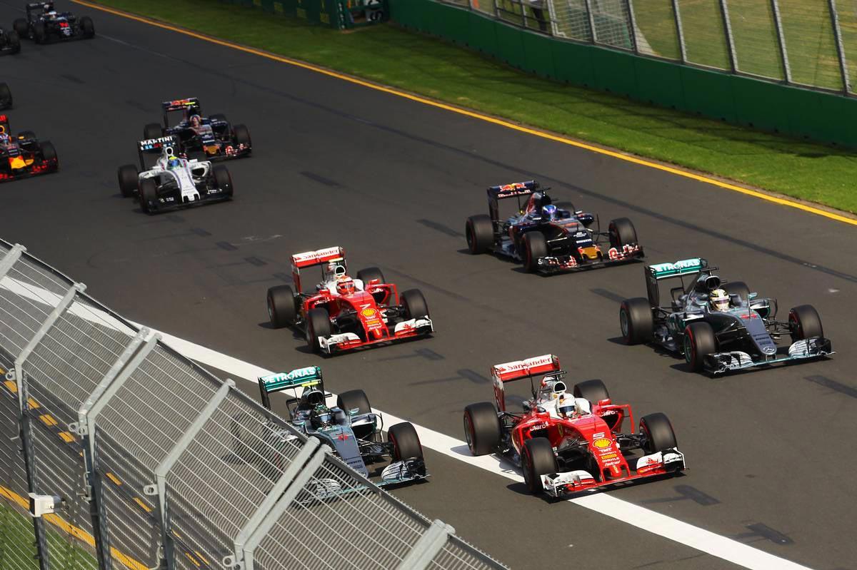 2016年第1戦オーストラリアGP 決勝レース