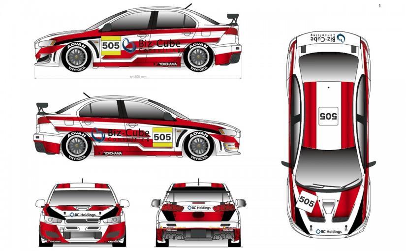 新たなカラーリングをまとったランエボXでスーパー耐久に挑むAS Racing