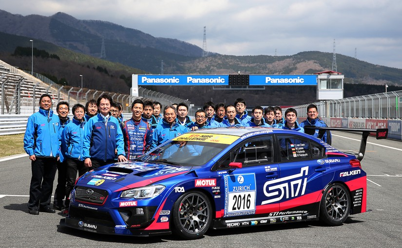 海外レース他 | 目指すは連覇。スバル、NBR仕様WRXを富士でシェイクダウン