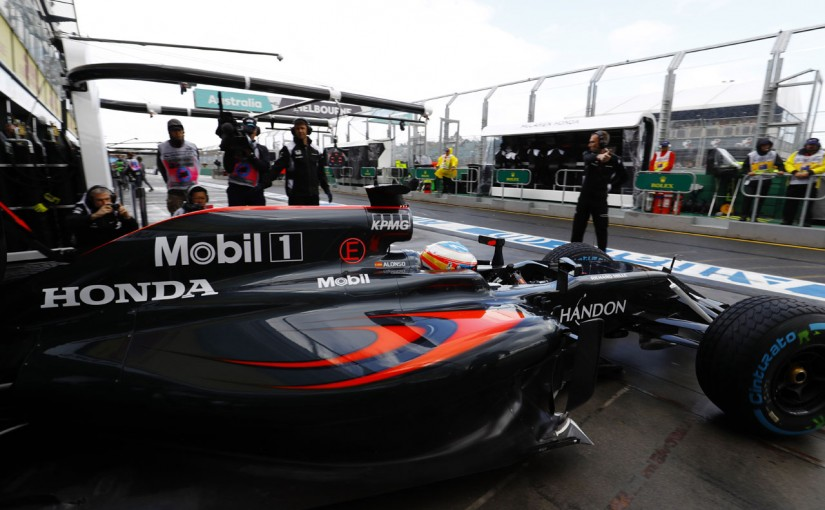 2016年オーストラリアGP フェルナンド・アロンソ(マクラーレン・ホンダ)